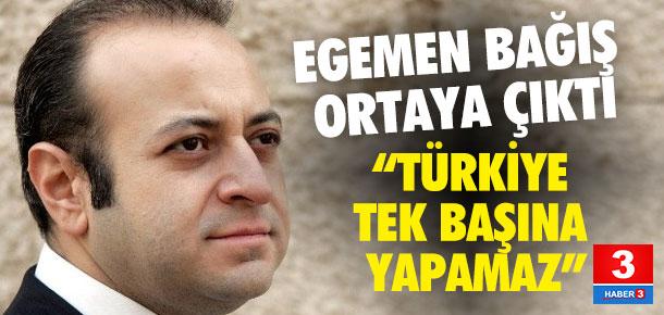 Egemen Bağış: Türkiye tek başına yapamaz