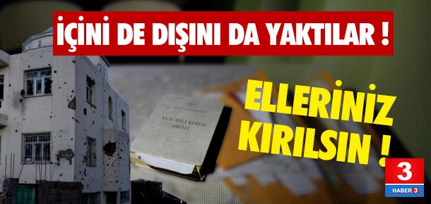 PKK'lılar Cizre'deki camiyi enkaza çevirdi