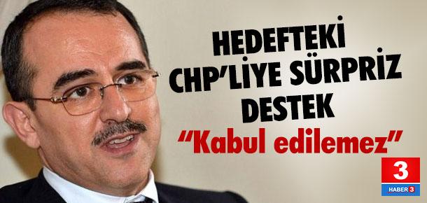 CHP'li Böke'ye Sadullah Ergin'den destek !