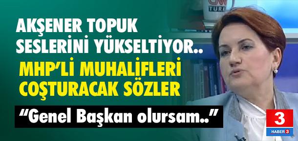 Meral Akşener'den iddialı sözler: Başbakan olurum