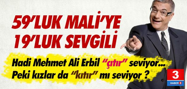 Mehmet Ali Erbil'e 19'luk sevgili