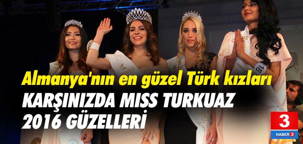 İşte Miss Turkuaz 2016 güzeli