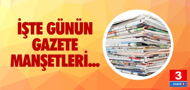 6 Mayıs 2016 tarihli gazete manşetleri