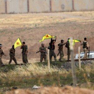 YPG keskin nişancı mevzii böyle havaya uçuruldu !
