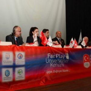 Çomü'de Sporda Fair Play Sempozyumu Gerçekleştirildi