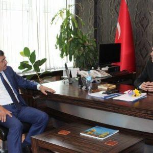 Başkan Akdoğan'dan Polis Teşkilatı'na Kutlama Ziyareti