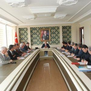 Yatırımları İzleme Ve Değerlendirme Toplantısı Yapıldı