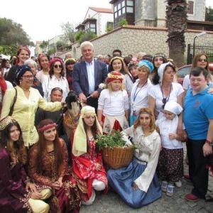 Alaçatı'da Ot Festivali İzdihamı