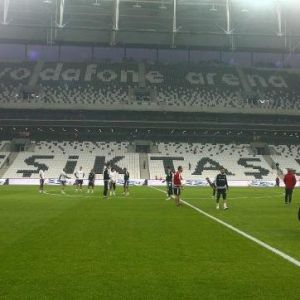 Vodafone Arena'da İlk Antrenman