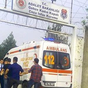 Kocaeli'de cezaevinde korkutan yangın