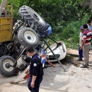 Cankur, Traktörün Altında Kalan Suriyeli İşçiyi Kurtardı