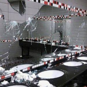 Fenerbahçeli Taraftarlar Mağlubiyetin Acısını Koltuk Ve Tuvaletlerden Çıkardı