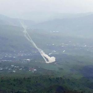 PKK sığınaklarına 1 saatlik top atışı !
