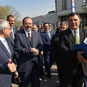 Diyanet İşleri Başkanı Görmez Kutlu Doğum Haftası Avrupa Açılışını Yaptı
