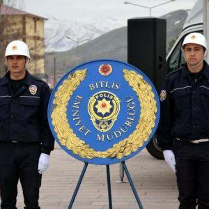 Bitlis'te Türk Polis Teşkilatı'nın Kuruluşu Kutlandı