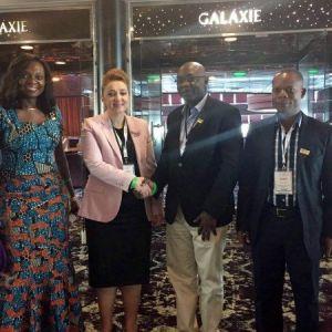 Atasoy, Gana Cumhuriyeti Devlet Bakanı Fosu İle Görüştü