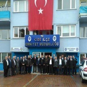 Cide'de Polis Teşkilatının 171. Kuruluş Yıl Dönümü Kutlandı