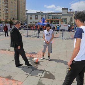 Talas'ta Sokak Futbol Turnuvası