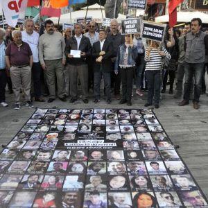 Ankara Katliamını Canlandırdılar