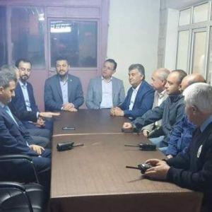 Ak Parti Milletvekilleri Karakol Merkezini Ziyaret Etti