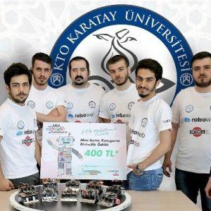 Kto Karatay Üniversitesi Robot Topluluğu Ödülleri Topladı