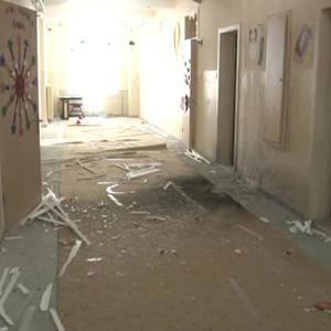 Van'da teröristler okula saldırdı !
