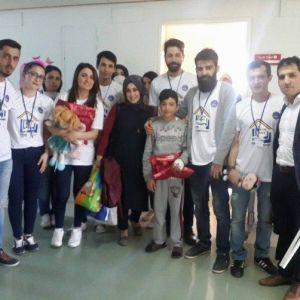 Yıldızeli Gönüllü Gençlik Kulübü Kaymakam Pınar'ı Ziyaret Etti