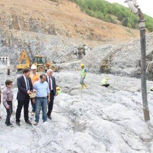 Kirazlı Köprü Barajına İlk Harç Atıldı