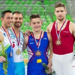 Ümit Şamiloğlu Barfiks Aletinde Dünya Jimnastik Şampiyonu Oldu