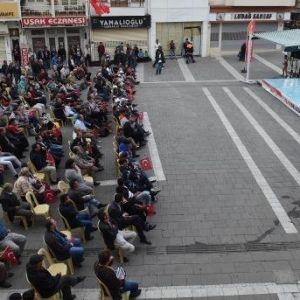 Muratbey Uşak Sportif Taraftarı Dışarıdan Destek Oldu
