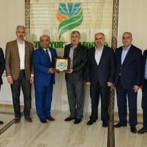 Anesiad Yönetiminden, Başkan Polat'a Ziyaret