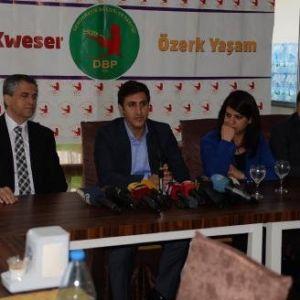 Dbp Eş Başkanı Yüksek: Belediyelere El Koymak Darbedir, Buna İzin Vermeyiz