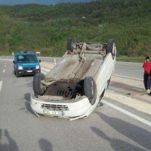 (Tekrar) Biga'da Trafik Kazası: 5 Yaralı
