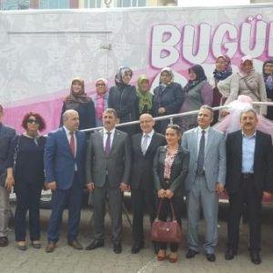 Samsun'da 'Pembe Prenses' Tır'ı İle Kanser Taraması Yapılacak