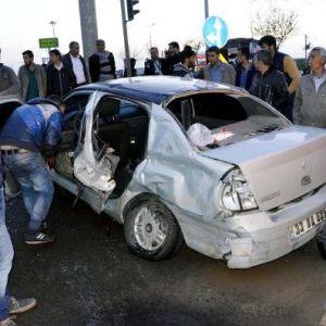 Siverek'te Otomobil Takla Attı: 2 Yaralı
