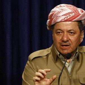 barzani'den Davutoğlu'na teşekkür