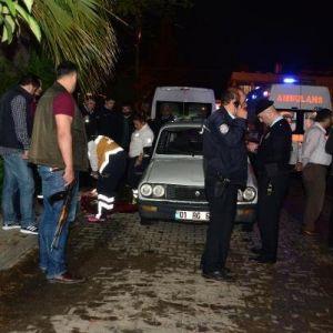 Adana'da seyir halinde aracı taradılar: Ölü ve yaralı var...