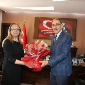 Rektör Kılıç'tan Nevşehir İl Emniyet Müdürlüğüne 171. Yıl Kutlama Ziyareti