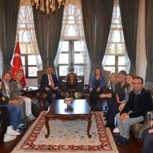 Vali Tapsız, Aralık Gönüllü Eğitim Ve Kültürel Araştırmalar Derneği'ni Kabul Etti