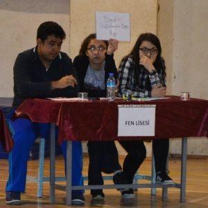 Bafra'da 'Ortaöğretim Okulları Arası Bilgi Yarışması'