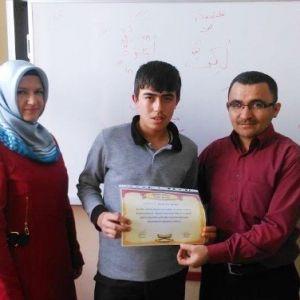 Kur'an'a Geçen Öğrenciler Ödüllendiriliyor