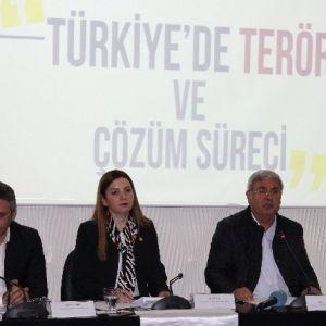'Türkiye De Terör Ve Çözüm Süreci' Masaya Yatırıldı