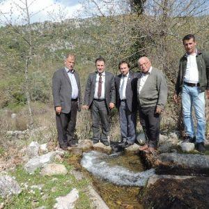 Asat, Akseki'de Su Kaynaklarını Birleştiriyor