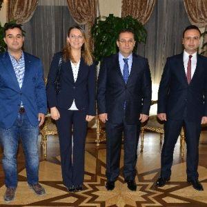 Stk'lardan Vali Türker'e Ziyaret