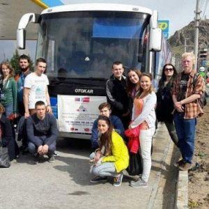 Afyonkarahisar'a Misafir Olarak Gelen Slovakya'lı Gençler Kentten Ayrıldı