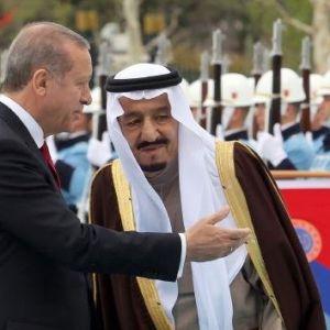 Cumhurbaşkanlığı Sarayı'nda Suudi Kralı Selman'a Özel Karşılama
