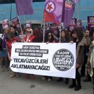 """Kadıköy'deki """"Tecavüz Dehşeti""""nin Sanığı Hakim Karşısında"""