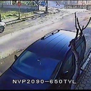 Eskişehir'deki Doğalgaz Borusu Patlaması Güvenlik Kamerasında