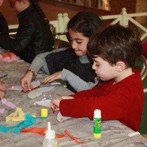 Forum Gaziantep Çocuk Kulübü'ne Ponpon Kelebekler Renk Kattı