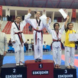 Çanakkaleli Taekwondocular Madalya İle Döndüler